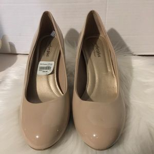 Beige neutral pump comfort plus predictions  8.5